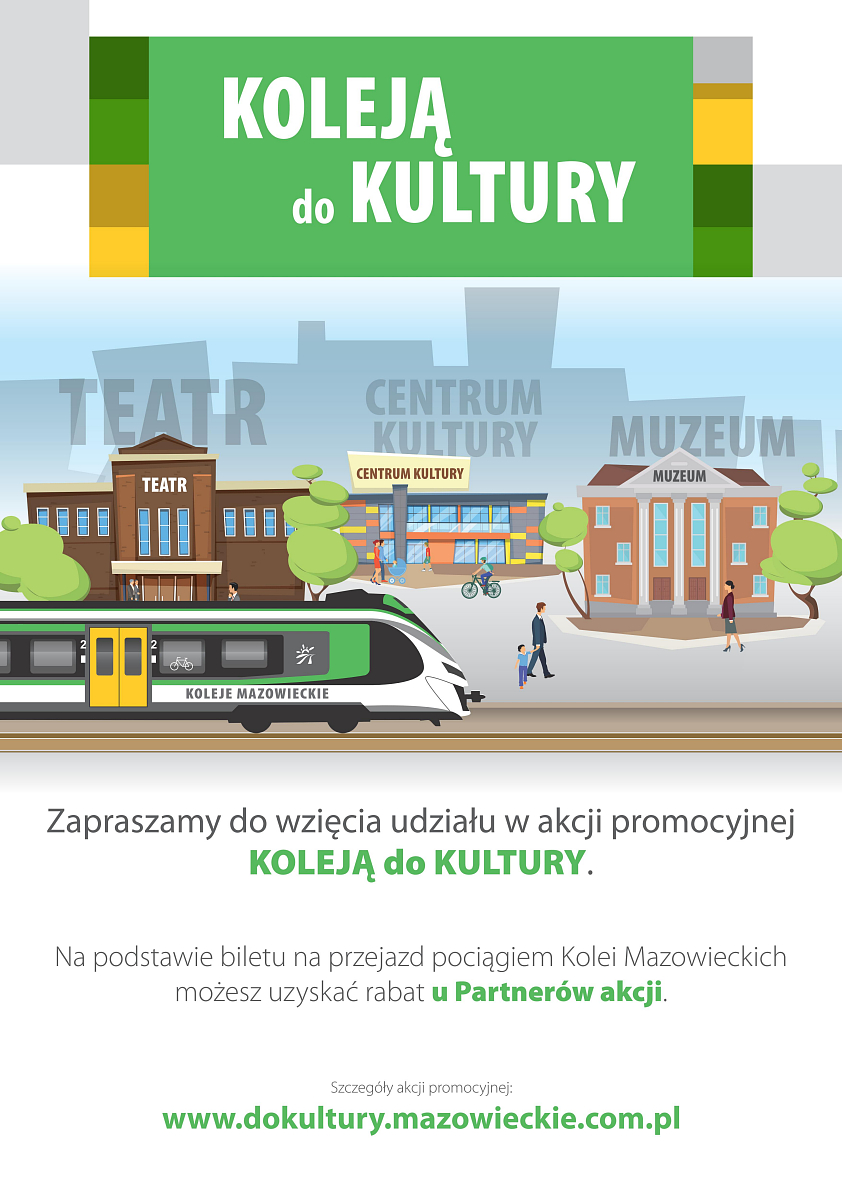 koleją do kultury plakat2020