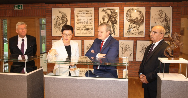 Deputy Prime Minister at the Museum