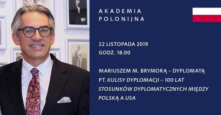 Spotkanie autorskie z Mariuszem M. Brymorą – dyplomatą